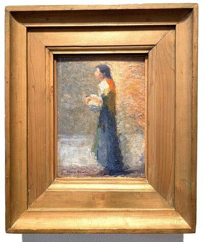 Henri Martin, 'Etude Pour La Femme Au Gilet Rouge (study)', ca. 1920