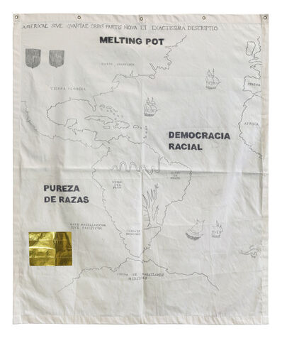 Jaime Lauriano, 'America: democracia racial, melting pot and pureza de razas', 2019