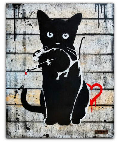 TABBY, 'Cat Vs Banksy Rat', 2020
