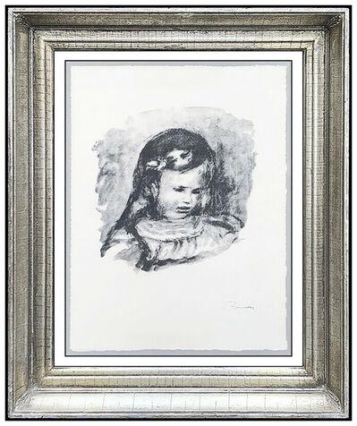 Pierre-Auguste Renoir, 'Claude Renoir, La Tete', 20th Century