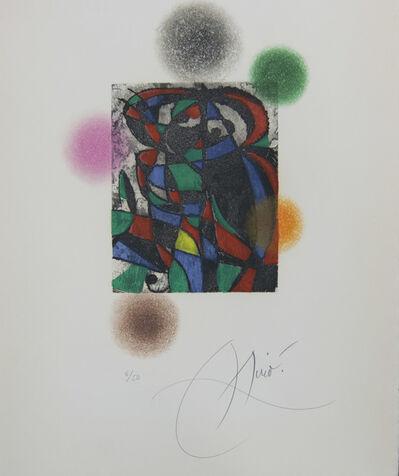 Joan Miró, 'Harlequin Twilight', 1975