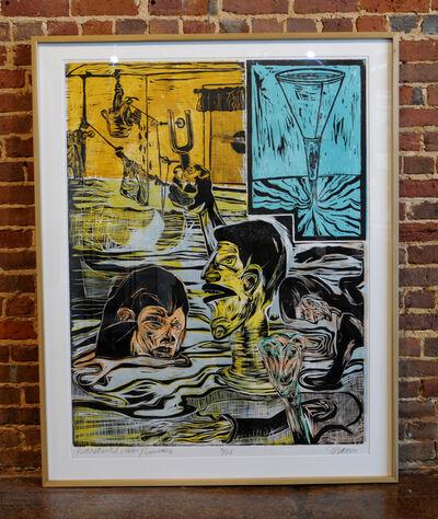 Ke Francis, 'Reconstruction Vision, Swimmers'