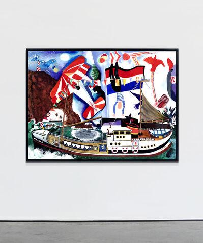 Malcolm Morley, 'Regatta', 2012