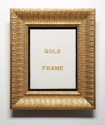 John Will, 'Gold Frame', 2006