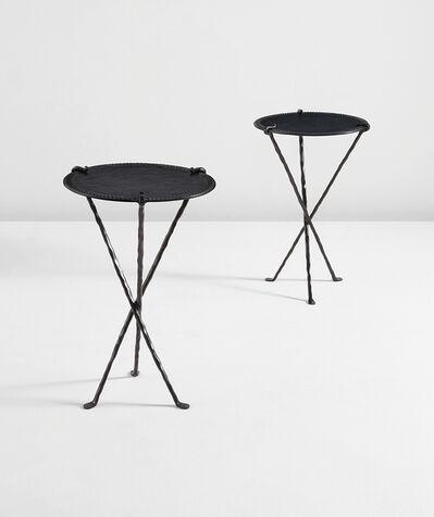 "Elizabeth Garouste and Mattia Bonetti, 'Pair of ""Comtesse"" guéridons', designed 1990"