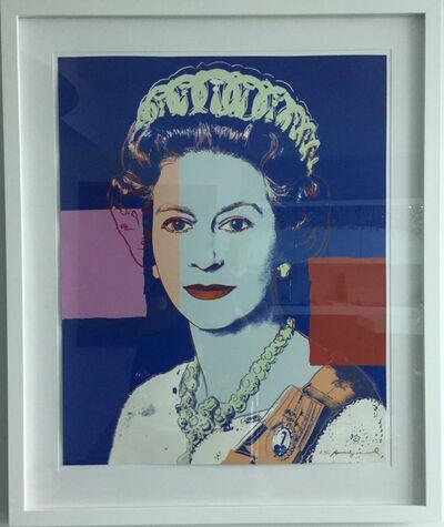 Andy Warhol, 'Reigning Queens (Royal Edition): Queen Elizabeth II of the United Kingdom', 1985