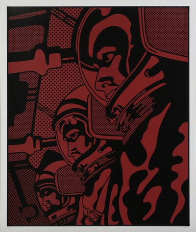 Claudio Tozzi, 'Astronauta Vermelho', 1970