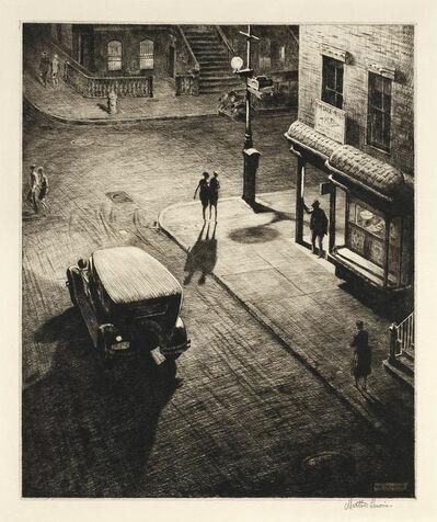 Martin Lewis, 'Relics.  [Speakeasy Corner.]', 1928