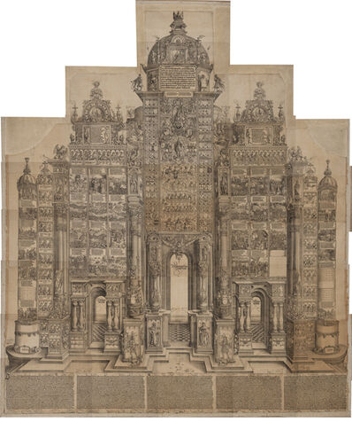 Albrecht Dürer, 'The Arch of Honour of Maximilian I', 1515