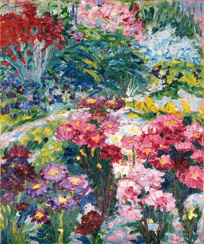 Emil Nolde, 'ANNA WIED'S GARDEN', 1907