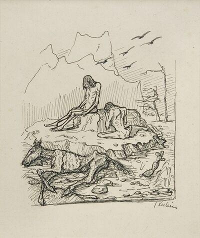 Alfred Kubin, 'Castaways', 1909