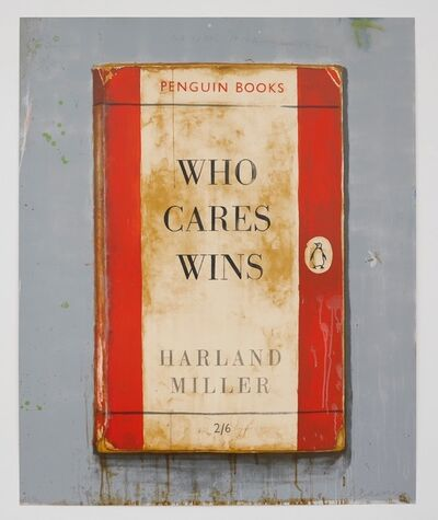 Harland Miller, 'Who Cares Wins', 2018