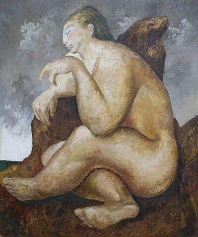 Guillermo Meza, 'Sentada Desnuda', 1941