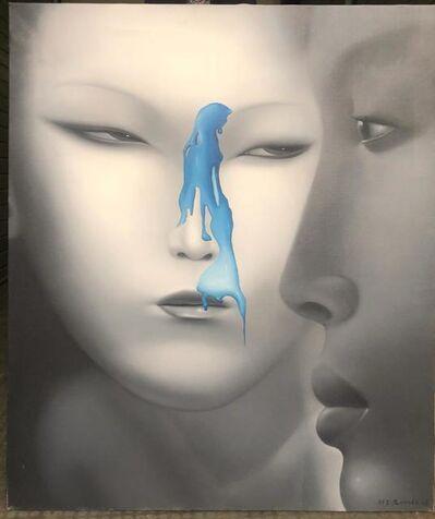 "Liu Yujun, ' Painting by Liu Yujun, from the series ""Unidentified Liquid""', ca. 2010"