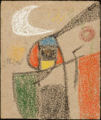 Joan Miró, 'Femme devant la lune', 1977
