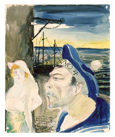 Otto Dix, 'Harbor Scene', 1922