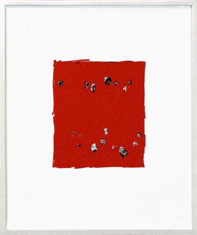 Frank Mädler, 'Pen:Teddys in rot', 2013