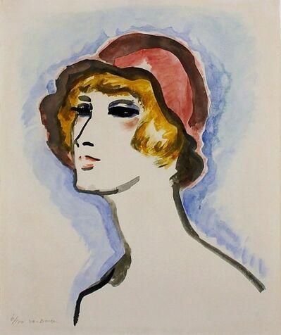Kees van Dongen, 'Femme au Chapeau Rouge', 1925-1930