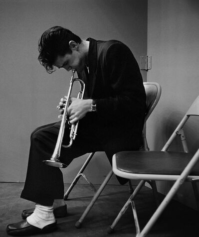Bob Willoughby, 'CHET BAKER', 1953