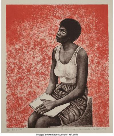 Elizabeth Catlett, 'Red Leaves', 1978