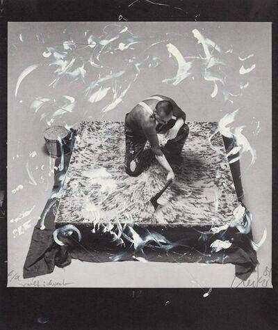 Günther Uecker, 'Entwicklung eines Werkes II', 1981