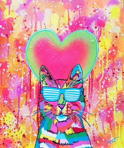 Mary Taffanel, 'Cool Cat Lover', 2018