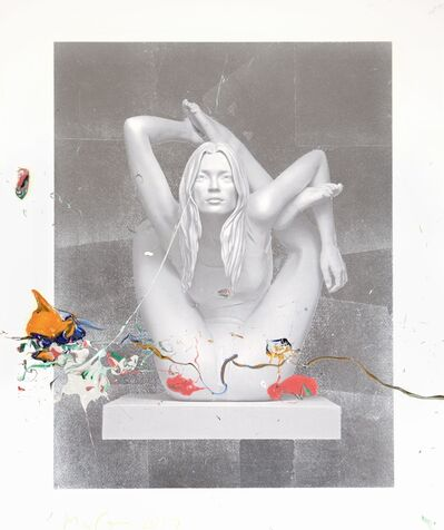 Marc Quinn, 'Sphinx (silver leaf)', 2013