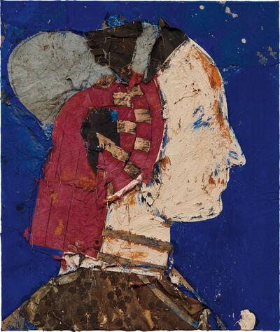 Manolo Valdés, 'Perfil con Fondo Azul', 1994