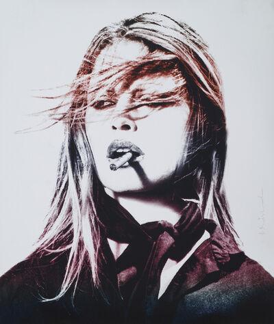 Mr. Brainwash, 'Brigitte Bardot (Purple Lips)', 2017