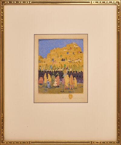 "Gustave Baumann, 'Color woodblock print, ""San Geronimo""', ca. 1925"