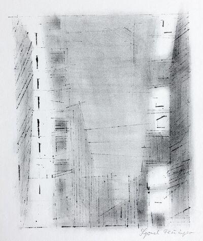 Lyonel Feininger, 'Manhattan 3', 1955