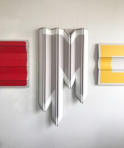 Robert William Moreland, 'Untitled Jagged White', 2018