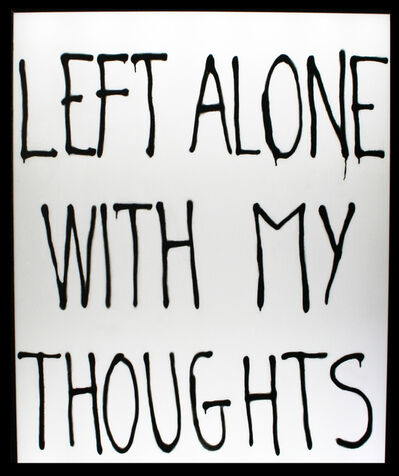 Timothée Talard, 'Left alone with my thoughts', 2018