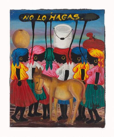 José Luis Vargas, 'No lo hagas (Don´t do it)', 2014