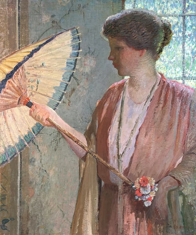 Rae Sloan Bredin, 'Woman with Parasol', ca. 1910