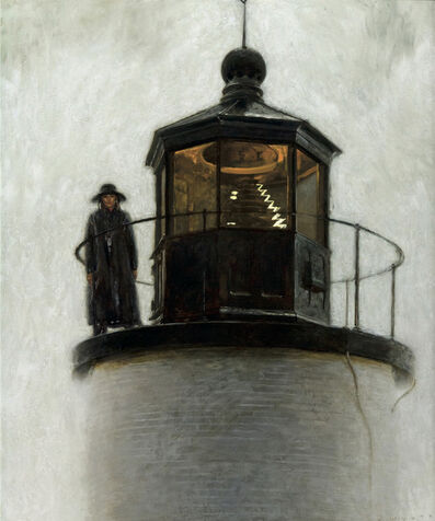 Jamie Wyeth, 'Light Station'