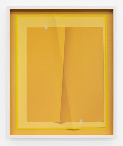 John Houck, 'Accumulator #33.1, 3 Colors #EBB168, #FECB7A, #F6AE66', 2019