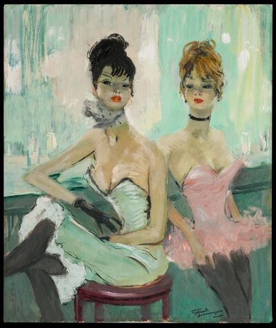 Jean Gabriel Domergue, 'Le Bar du Cancan', 20th Century