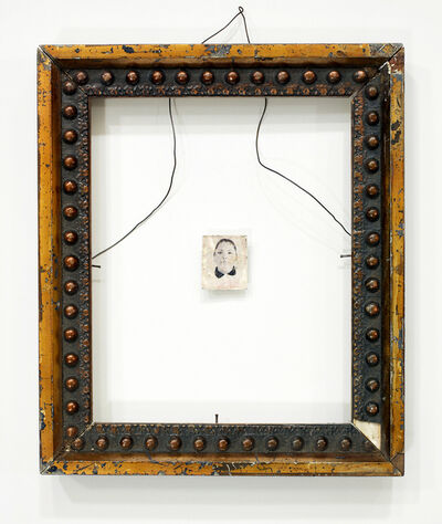 Tom Kiefer, 'Portrait #9, Female, Wire Hanger', 2017
