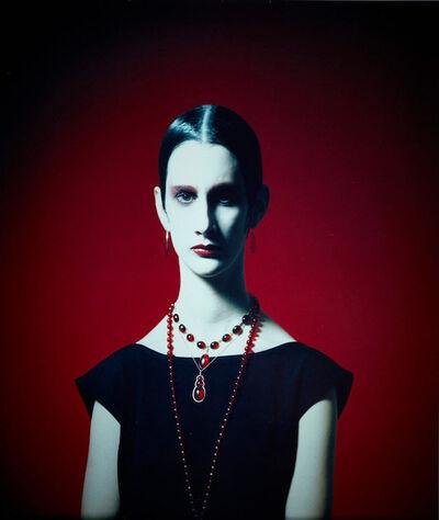 Toni Meneguzzo, 'Sasha con Ambre, Vogue Gioello - dress Romeo Gigli - Milano', 1986