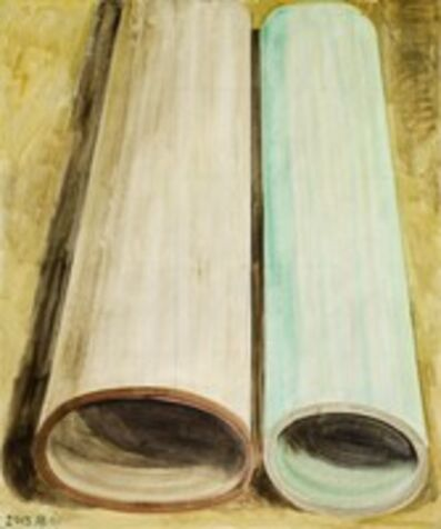 Zhang Enli 张恩利, 'Two Color Tubes', 2013