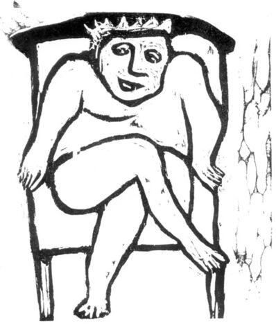 Ana Maria Pacheco, 'Gargantua and Pantagruel IX', 1994