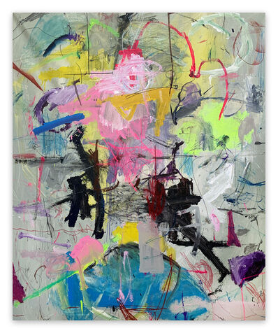 Yevhen Lisniak, 'Untitled21C (Abstract painting)', 2021