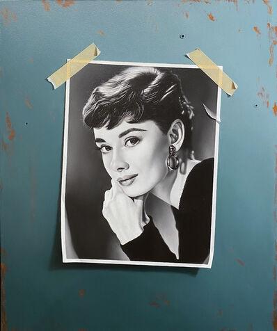 Otto Duecker, 'Audrey Hepburn', ca. 2016