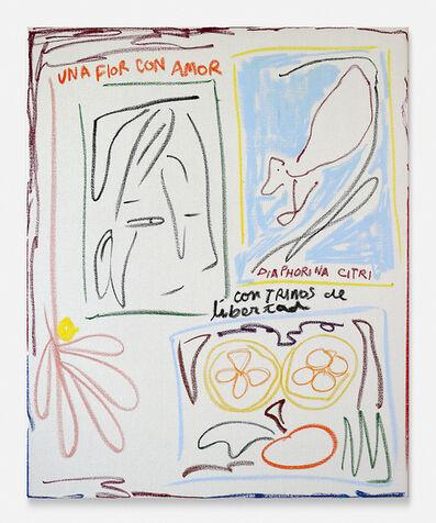 Nadia Hernández, 'Una flor con amor, Diaphorina Citri, con trinos de libertad (A flower with love, Diaphorina Citri, with trills of freedom)', 2019