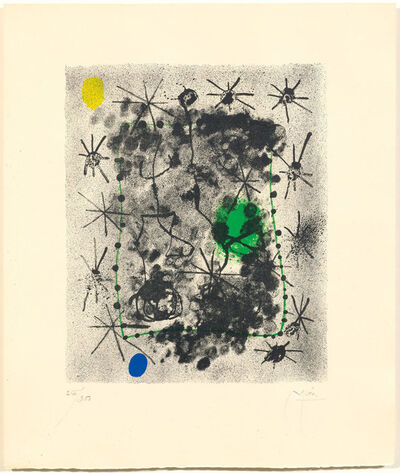 Joan Miró, 'From: Constellations', 1959