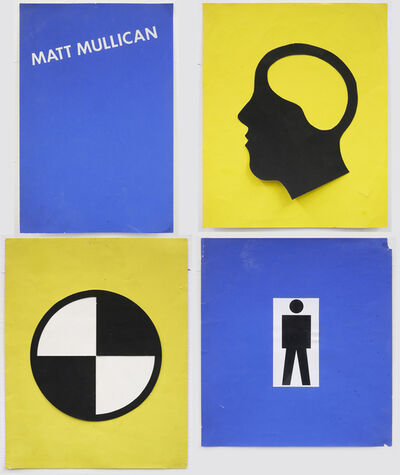 Matt Mullican, 'Untitled (Poster Design: early language)'