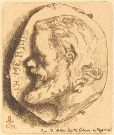 Félix Bracquemond, 'Charles Meryon', 1854