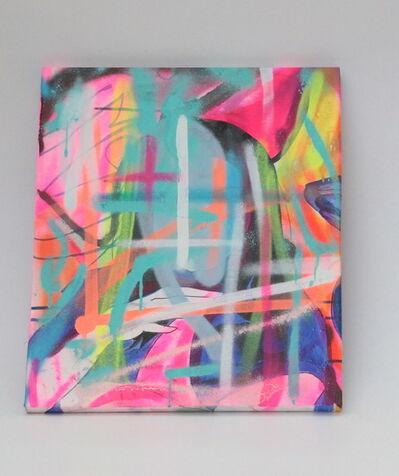 Hideki Iinuma, 'neon cross 1', 2020