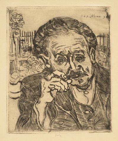 Vincent van Gogh, 'Man Smoking a Pipe: Portrait of Dr. Gachet', 1890